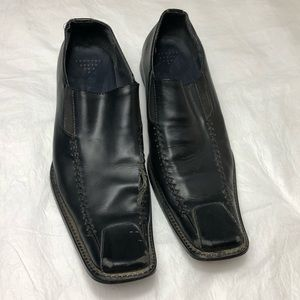 Vintage Gucci Leather Loafers Sz 11